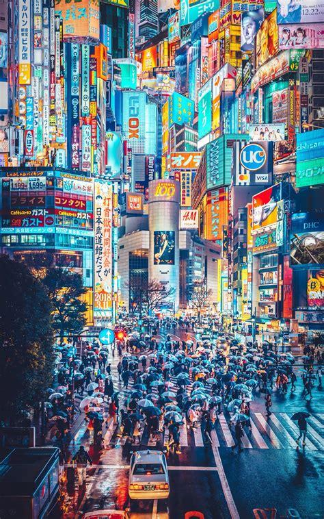 yulily on tokyo photography cyberpunk city