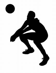 The gallery for --> Volleyball Silhouette