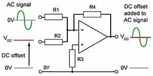 op amp circuits With dc bias circuit