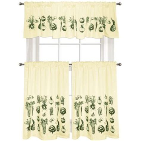 colordrift vintage veggies window treatments jcpenney