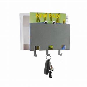 compact letter rack and key holder by the metal house With letter rack and key holder