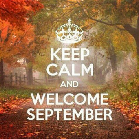Do you remember the very first week of September ...