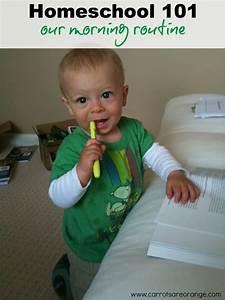 Daily Preschool Homeschool Routine
