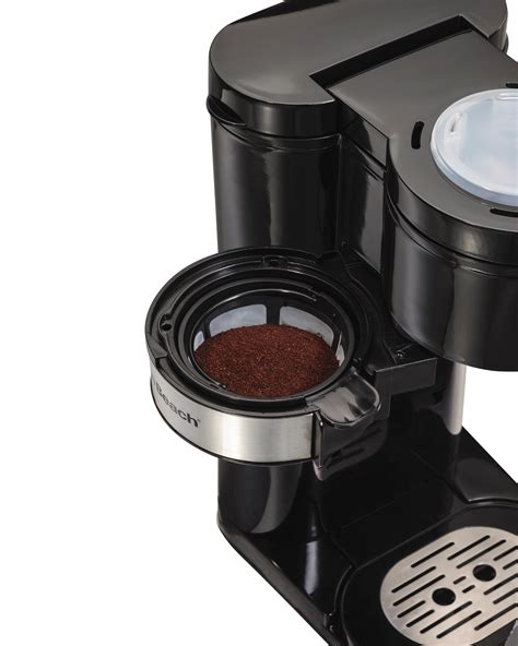 Amazon.com: Hamilton Beach Coffee Maker, Grind and Brew Single Serve, Black (49989): Kitchen