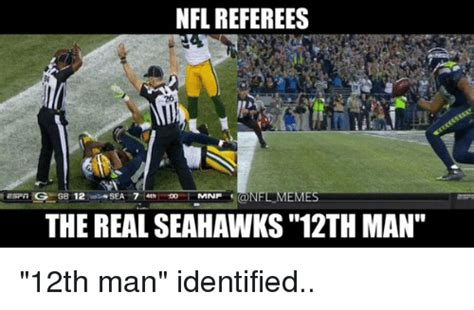nfl referees meme rg gb  sea   mnp  real seahawks