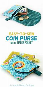 Coin Purse Pattern With Zipper Pocket