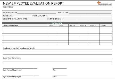 New Employee Evaluation Report Format Purpose Of Objective In Resumes Qualification Sample For Resume Qualities A Supervisor Purchase Order Template Word Puppy Sale Flyer Templates Quality Assurance Plan Example On Proposal Event