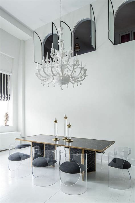 Esszimmer Le Richtige Höhe by 40 Moderne Esszimmerst 252 Hle Die Dem Raum Ein Cooles