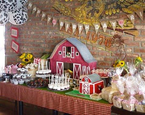 karas party ideas  mcdonald farm themed birthday party