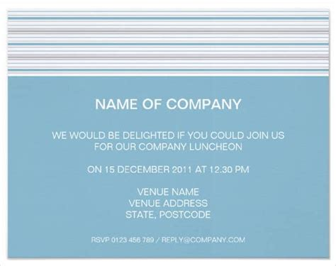 lunch invitation designs examples  psd word