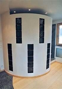 Wand Aus Glasbausteinen : bad waschtisch dusche badewanne boden wand aus naturstein ~ Markanthonyermac.com Haus und Dekorationen