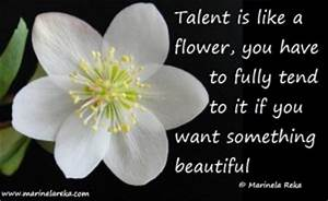Quotes About Pa... Talent Poems Quotes