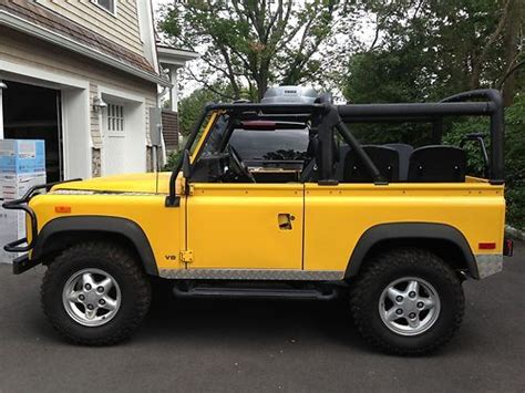 security system 1994 land rover defender 90 engine control buy used 1994 land rover defender 90 base sport utility 2 door 3 9l in darien connecticut