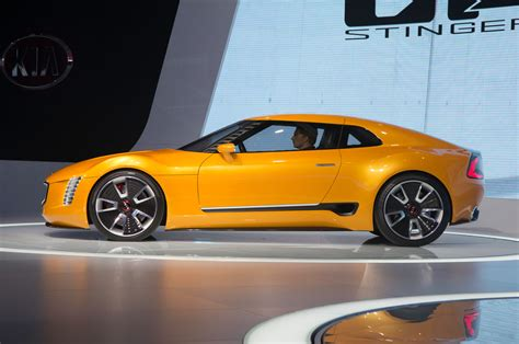 Kia Gets Into The Sports Car Groove With Gt4 Stinger