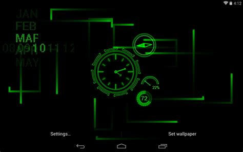 Digital Lock Wallpaper by Best Clock Live Wallpapers Android Live Wallpaper
