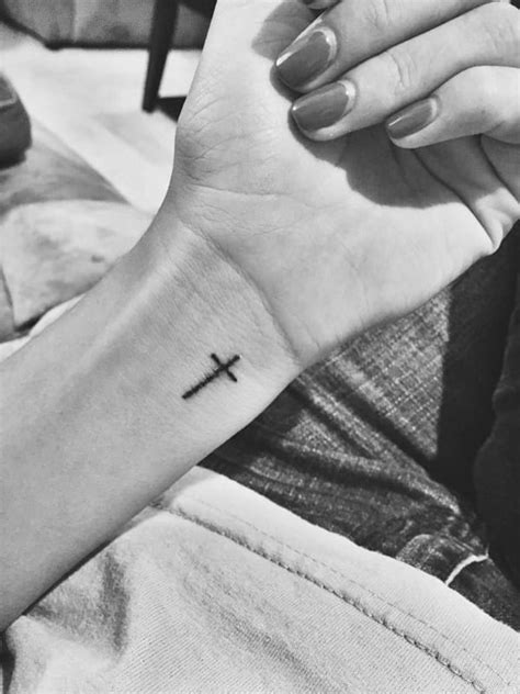 90 Cross Tattoos for the Religious and Not So Religious!
