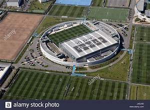 aerial view of the Etihad Campus a Manchester City ...