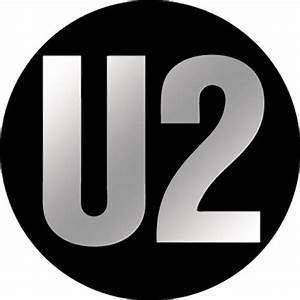 U2 Logo Chrome Button