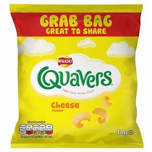Buy Walkers Crisps Grab Bag Quavers - Cheese 41g x 24 for ...