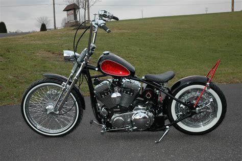 Rigid Bobber Frame Rolling Chassis Harley Sportster 30s