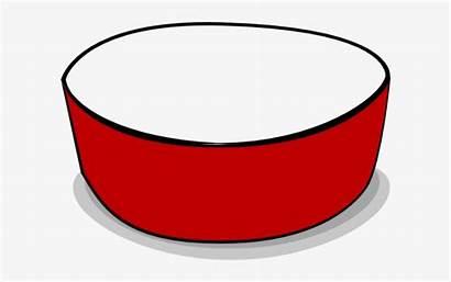 Bowl Empty Clip Clipart Dog Transparent Crimson
