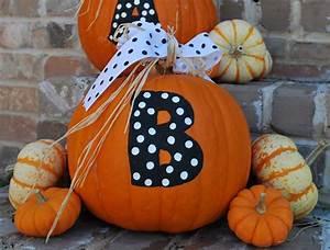 Halloween, Painted, Pumpkins