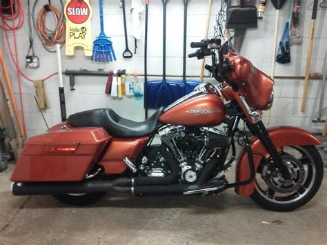 installing 12 quot bagger apes with abs on the cheap harley davidson forums