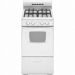Amana Agg222vdw 20 U0026quot  Freestanding Gas Range With 4 Sealed