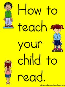 lesson plan for kindergarten 717 | how to teach read 225x300