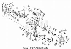 Troy Bilt Tb320bv 41as320g066  41as320g066 Tb320bv Parts Diagram For Engine Parts