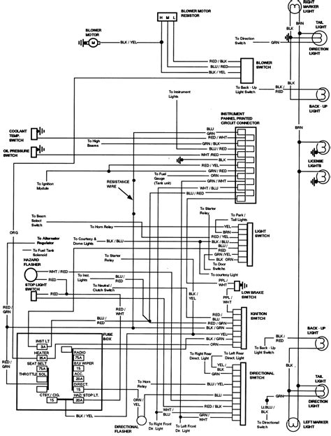 Ford Ignition Switch Wiring Diagram Schematic