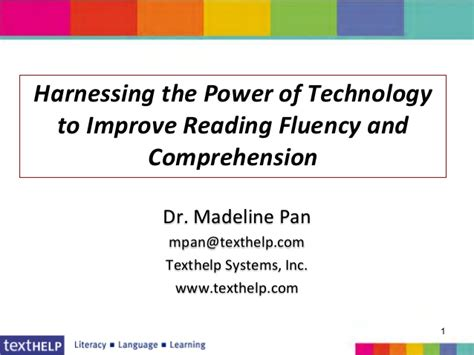 Technology To Improve Reading (red 730
