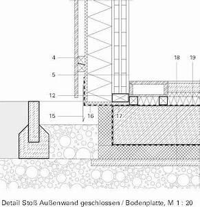 Feuchtigkeitssperre Auf Bodenplatte : detail bodenplatte fassade m 1 20 detail pinterest ~ Lizthompson.info Haus und Dekorationen