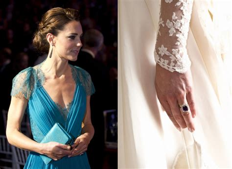 kate middleton engagement ring from kate middleton princess diana to elizabeth and their multicarat