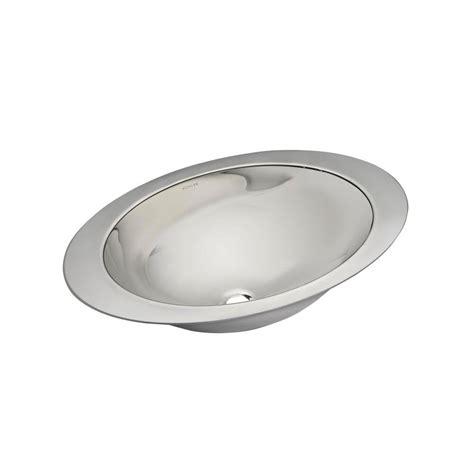 stainless steel undermount bathroom sink kohler rhythm undermount stainless steel bathroom sink in
