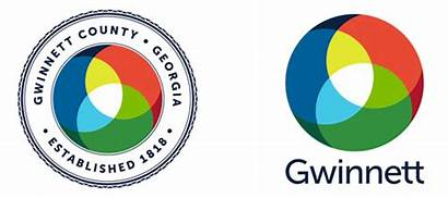 Gwinnett Seal County Kaleidoscope Vibrantly Connected Represents