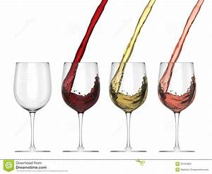 Wine Pouring Into Glass - Set Stock Photos - Image: 33164903