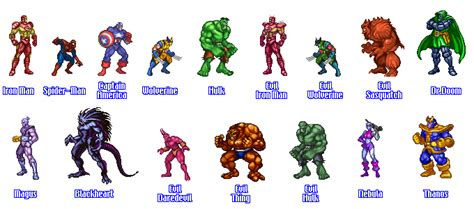 detonado marvel super heroes war   gems snes returns