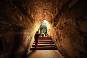 File The Ancient Tunnel U Mong Temple Chiang Mai Thailand