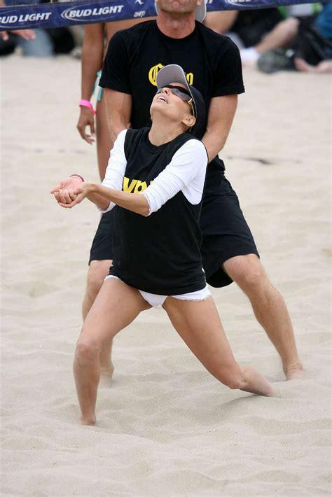 Eva Longoria Downblouse White Bikini Tanning Pics