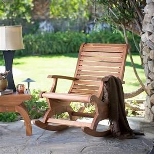 Belham Living Avondale Oversized Outdoor Rocking Chair