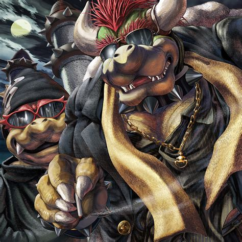 Nintendos Bowser Artwork By Masabowser The Art Of The