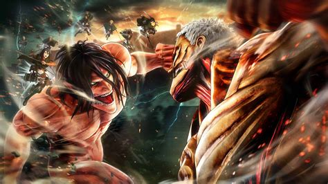 attack  titan anime  pc wallpapers wallpaper cave