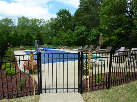 ideas for pool fencing save pool fence ideas providing safety and protecting your property traba homes