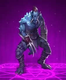 Dungeon Rush Evil Faction Cold Avenger Rare