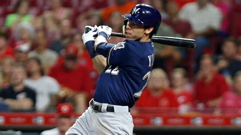 christian yelich      cycle  lead brewers