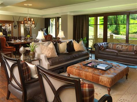 leather furniture cleaner living room transitional with