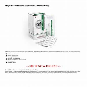 Magnus Pharmaceuticals Dbol