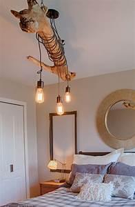 Lustre En Bois : luminaire suspension bois flotte ~ Teatrodelosmanantiales.com Idées de Décoration