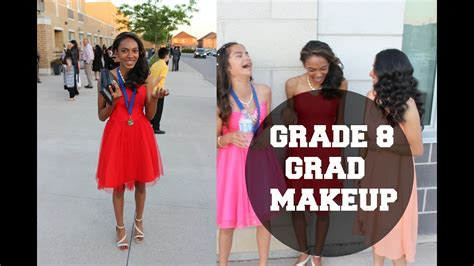grade  graduation makeup tutorial youtube